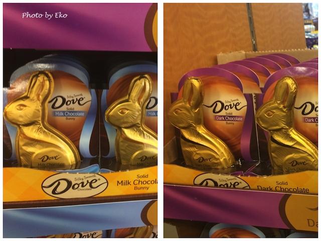 スーパーのチョコの中では濃厚で人気のDove