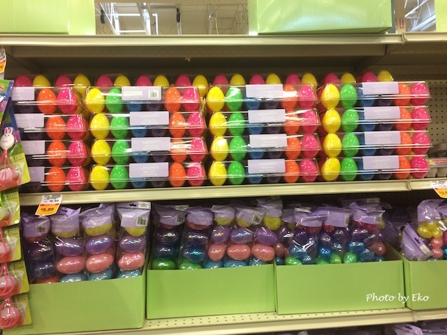 プラスチック卵ケースの売り場