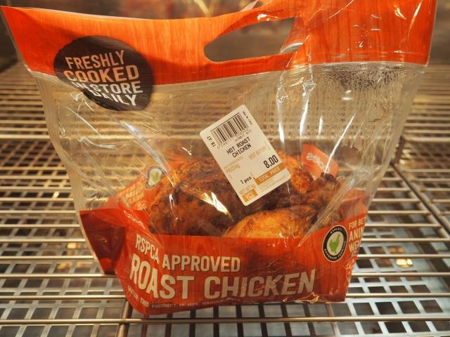 鶏一匹を贅沢に使用したローストチキン
