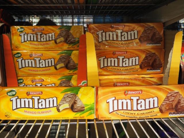 オーストラリア土産の定番、ティムタム