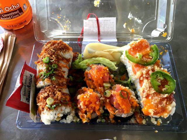 Sushi Combo at Wholefoods