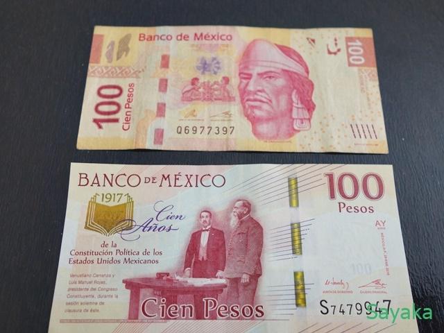 100ペソ紙幣(通常、記念)