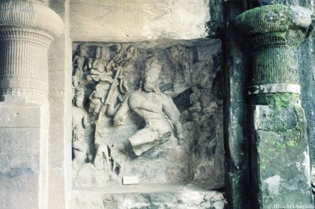 ヒンドゥー教で創造と破壊の神とされるシヴァ神
