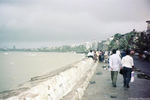 ムンバイ南部の海岸線