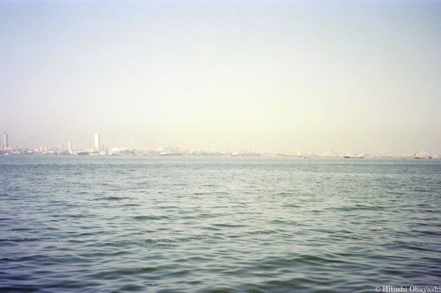 ムンバイから望むアラビア海