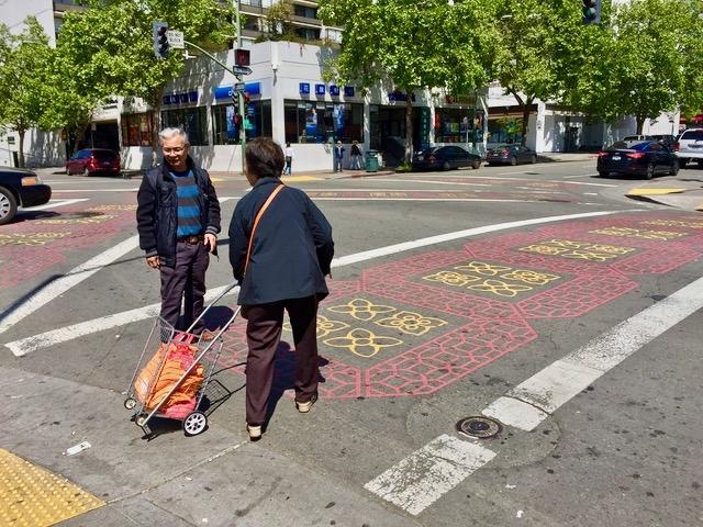 可愛い横断歩道