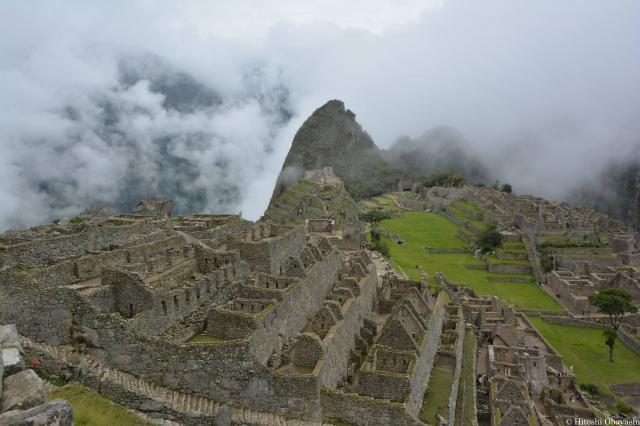 インカの天空都市マチュピチュ