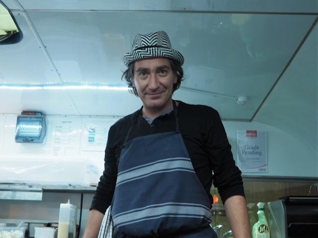 フレンドリーなヨーロップ・セントラル・キッチンの店員さん