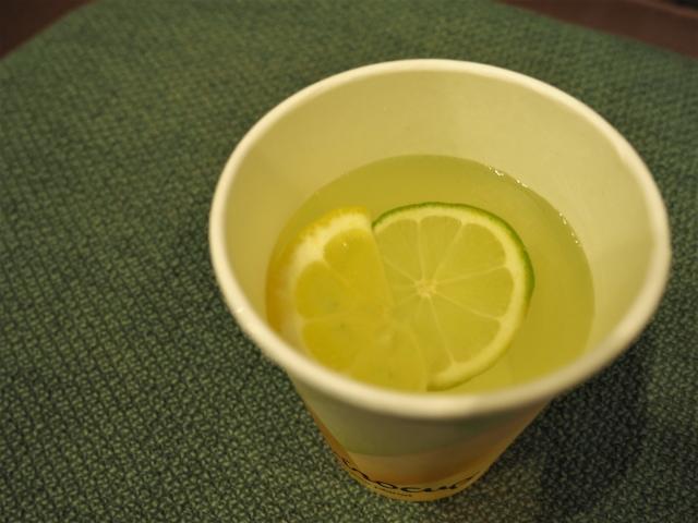 レモンとミントのモクテル、レモミント
