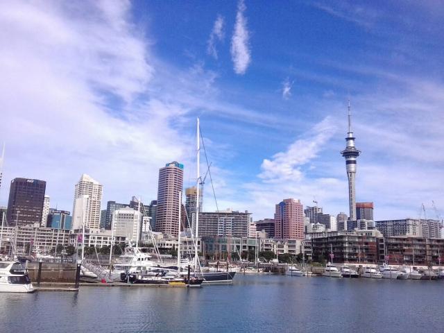 ニュージーランド最大の都市、オークランド