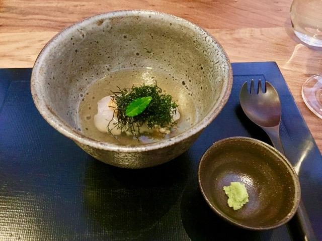 天然桜鯛の一口ご飯蒸し茶漬け