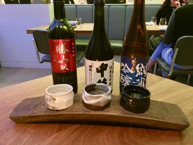 三種のお酒