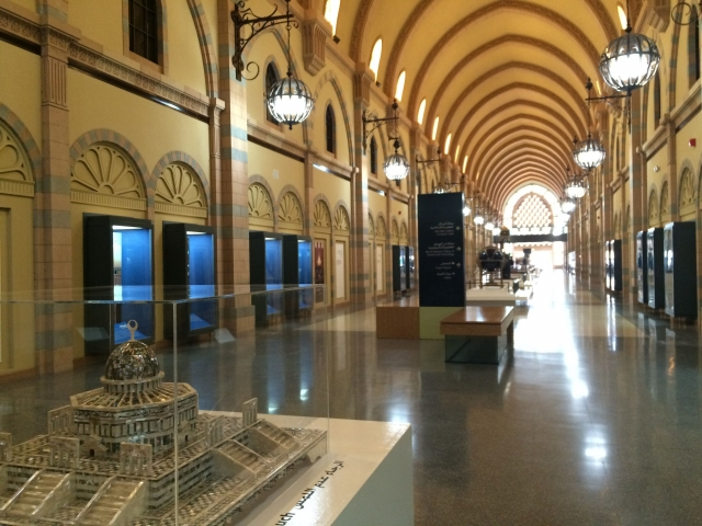 イスラム文明博物館の内部