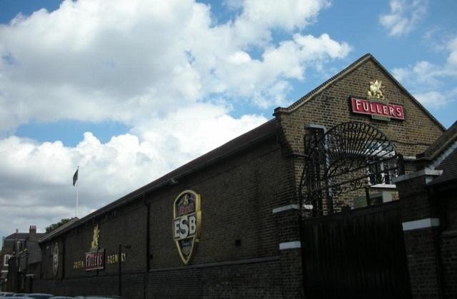 煉瓦造りのフラーズ・グリフィン醸造所