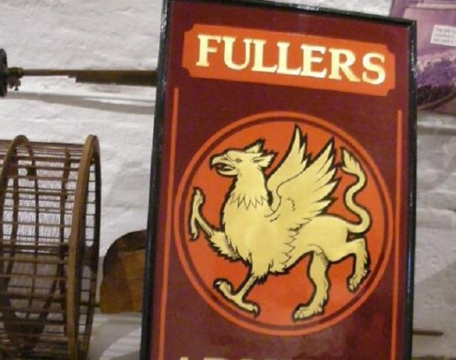 フラーズ社のシンボル、グリフィン