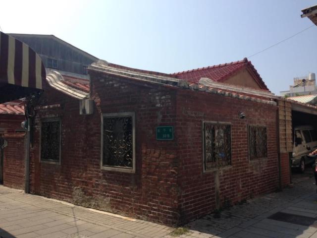 レンガ作りの家