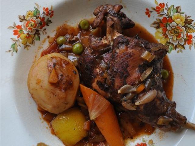 マルタのウサギ料理