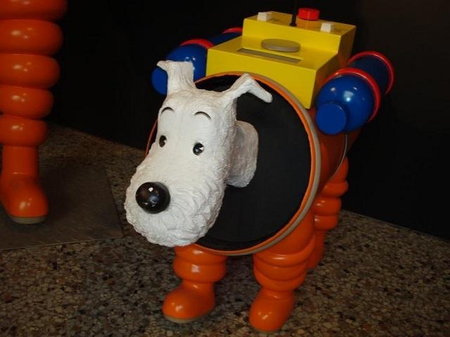 私はタンタンよりも名犬スノーウィのファン!