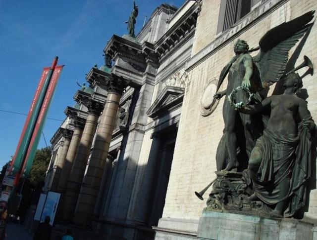 ベルギー王立美術館の外観