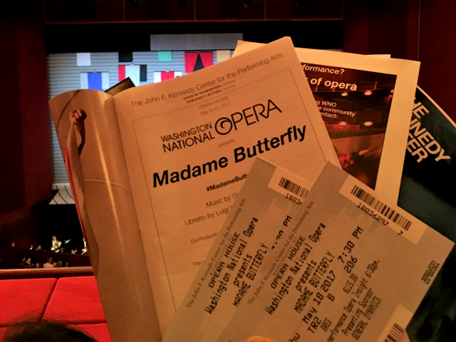 Madame Butterfly Program in DC