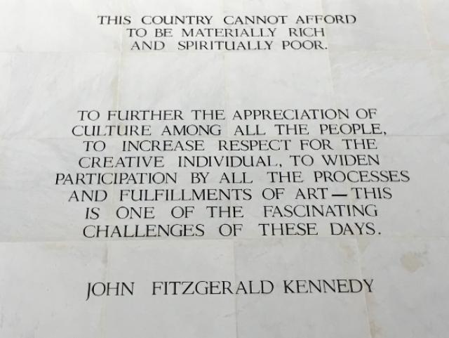 Words of Wisdom by JFK