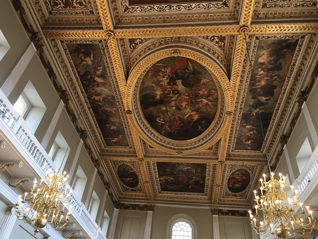 バロック期の巨匠ルーベンスによる天井画