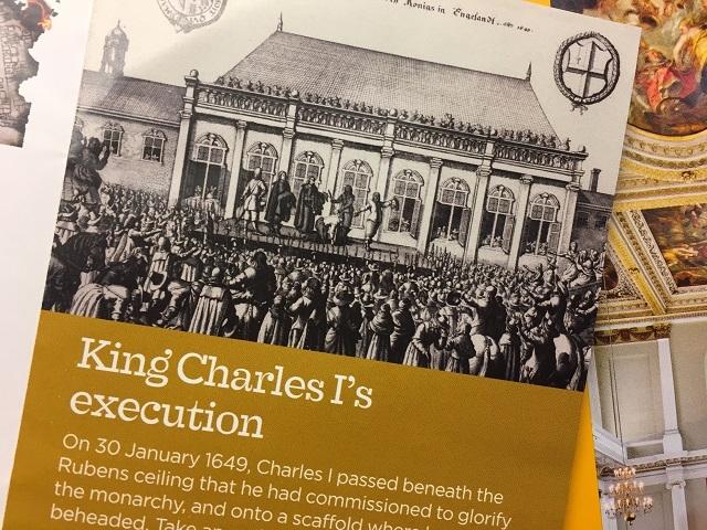 チャールズ1世の処刑を描いた絵画