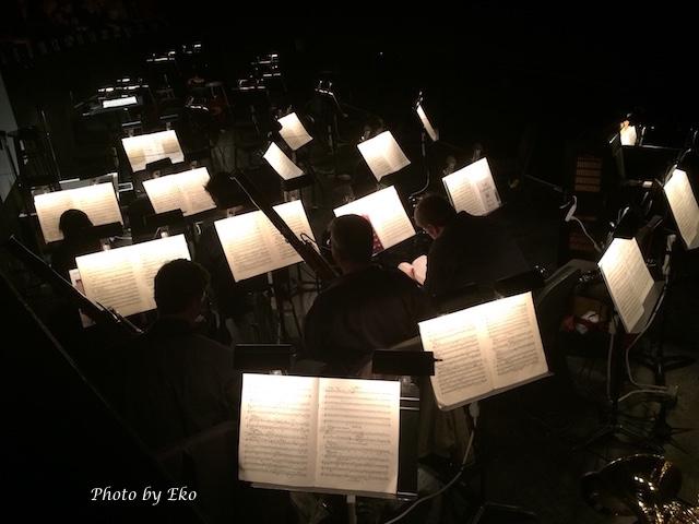 オーケストラボックスの風景