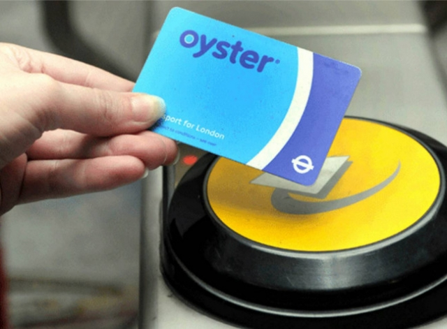 9) Oyster card
