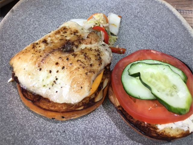 ランチ ハンバーガー