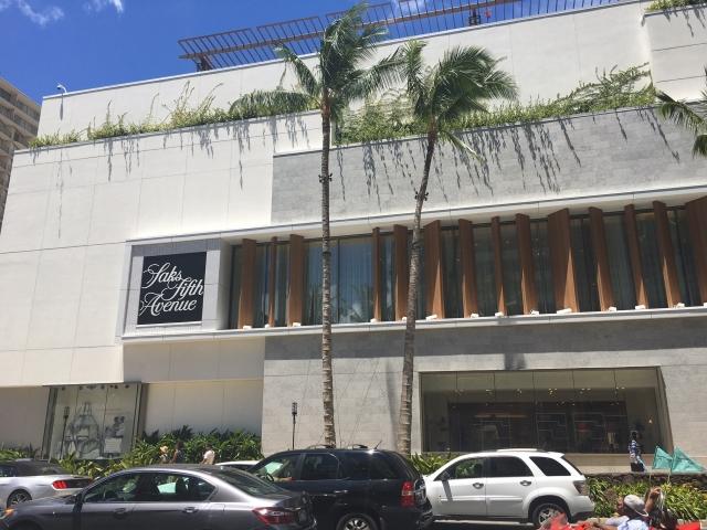 saks fifth Av Hawaii