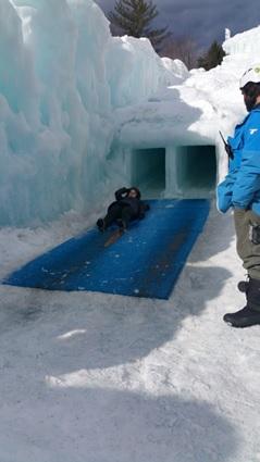 氷のスライダー