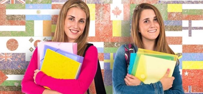 留学生2人