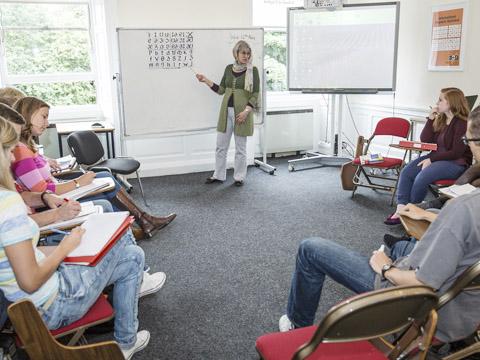 CESエディンバラのクラスルーム