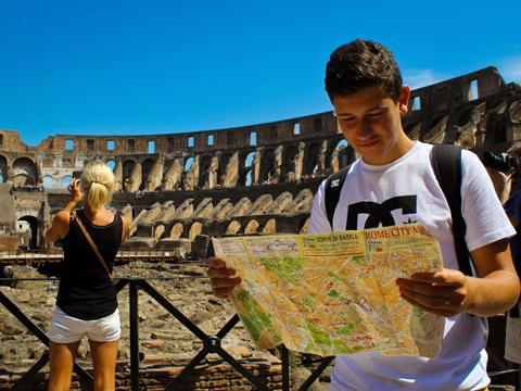 首都ローマならどこへ行くにも便利!~ポンペイへの日帰り旅行