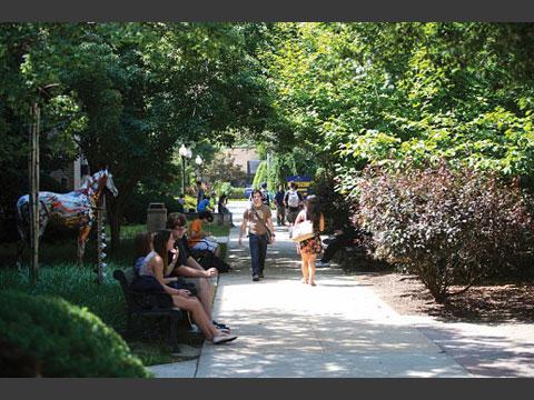 キャンパス内風景