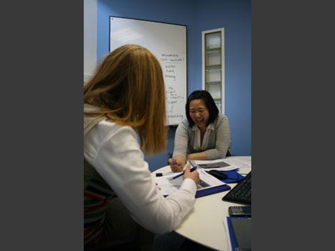 個人レッスンでは個々の目的に沿った内容のレッスンが受けられます。