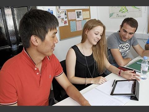 Student Zone(生徒用オンライン情報管理システム)でノート共有